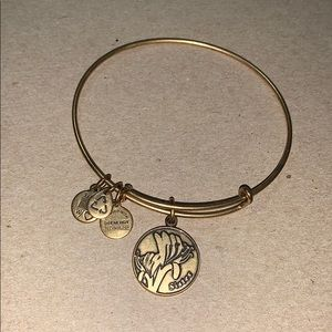 Alex and Ani | Gold Sister Charm Bracelet